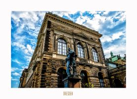 Dresden - the statue by calimer00