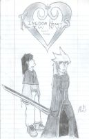 TWNW I Cover Sketch by krazykyuubilv3