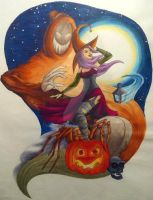 Halloween Parade by Lila-Pause