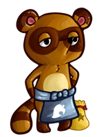 Tom Nook Sticker by Nonsensical-Me