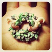 The Horns II by Merlyn-Wooden