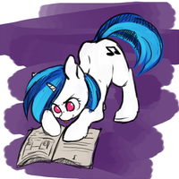 vinyl scratch by Docnyaka
