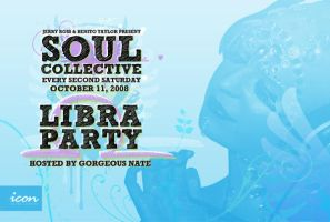 Soul Collective flyer front by 5MILLI