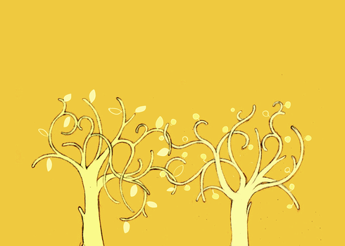 the two trees by jubah