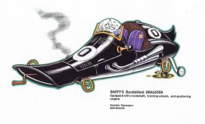 DAFFY DRAGSTER by Jerome-K-Moore