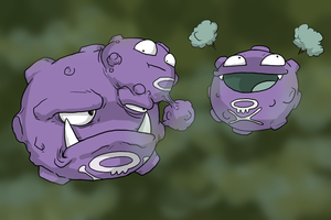 The Koffing Family by Zerochan923600