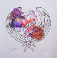 Memorial TATTOO color by getagirl