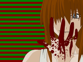 Blood Stained Daddy's Girl by weapon13WhiteFang