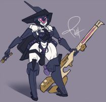 Blitz Witch by pizzacat