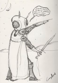 Insectoid Commander by Flish123