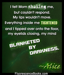 Fluorescence Decorative Typography Quote 4 by Graphix-Goddess
