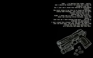 Gun assisted suicide by BlueGent