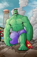 Hulk Smash Smallville!!! by LewisTillett