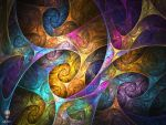 Psychedelic Swirls by psion005