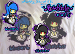 Project Maid - Bubble Cafe T-Shirts by vivianchhay