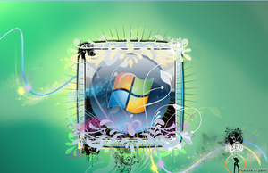 Windows Vista HD Wallpaper by livebetas