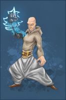 heavy monk colored by robiant