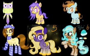 Unloved Adopts OPEN by Lost-in-Equestria