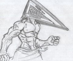 SH- Pyramid head by Night-mist