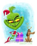 The Grinch by xanderthurteen