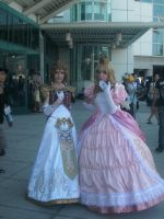 Zelda and Peach by girloveslink
