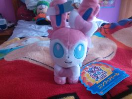 Sylveon Pokedoll by SkunkyRainbow270