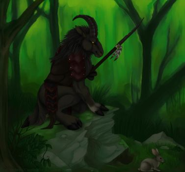 Ramulus on the Hunt by CunningFox
