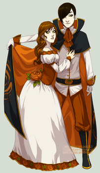 Lord and Lady Autumn by Nashya