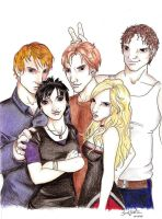 The Cullens by Pyr0kitt3h