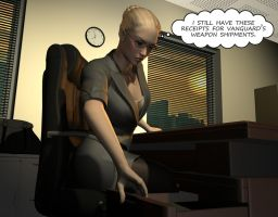 Penelope - Working Late 6 by Torqual3D