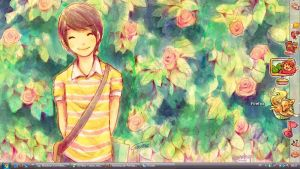 My desktop by Daishota