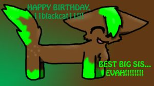 11blackcat11s birthday present by Kinaharu