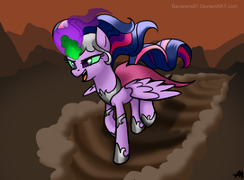 Evil Twilight Sparkle by Bananers97