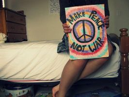 make_peace_not_war by Jeannyinabottle