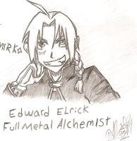 Edward Sketch by ajbluesox