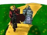 Elric Brothers by Arrokke