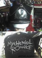 Custom MCR Band Hat by GeeFreak