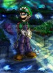 Mario: LM2 - The Greenhouse by saiiko