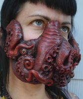 Deluxe Custom Tentacle Mask B by missmonster