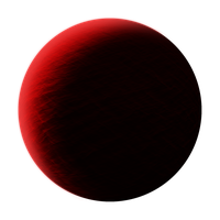 Dark Red Planet PNG by Breezyxox