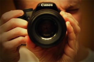 Canon in view by wick3dsentinel