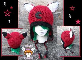 Custom Fox Hat by Cloud-Leporifelis