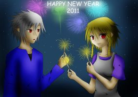 HAPPY NEW YEAR 2011 by XenonCytomander