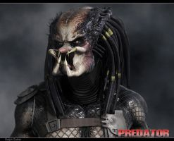 Predator Facial Expression #5 by FoxHound1984