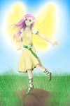 Wings of Light - Humanized Fluttershy Remake by drjhordan
