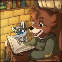 Commission for Sad_Kit by AvAmri