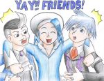 YAY FRIENDS by Meteor-Summoner