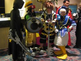 KH2 Cosplay 02 by Knightfourteen