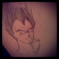 This sketch is over 9000 by KrisseyMage