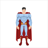 superman redesign by All10